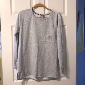 Like New gray sweatshirt